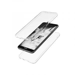 Θήκη 360 Full Cover Σιλικόνης Διάφανο Huawei Mate 10 Lite