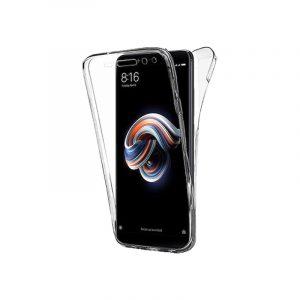 Θήκη 360 Full Cover Σιλικόνης Διάφανο Xiaomi Redmi Note 5 / Note 5 Pro