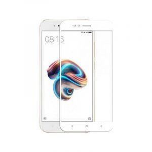 Προστασία οθόνης Full Face Tempered Glass 9H για Xiaomi Mi 5X / Mi A1 Άσπρο
