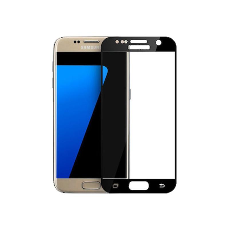 Προστασία οθόνης Full Face Tempered Glass 9H για Samsung Galaxy S7 Μαύρο