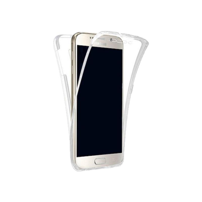 Θήκη 360 Full Cover Σιλικόνης Διάφανο Samsung Galaxy J7 2017
