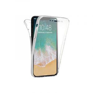 Θήκη 360 Full Cover Σιλικόνης Διάφανο iPhone 11 Pro Max