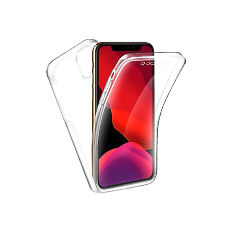 Θήκη 360 Full Cover Σιλικόνης Διάφανο iPhone 11 Pro