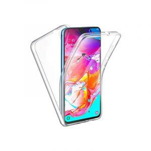 Θήκη 360 Full Cover Σιλικόνης Διάφανο Samsung Galaxy A31