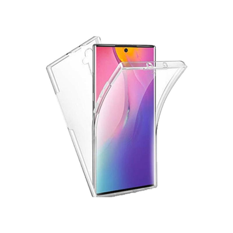Θήκη 360 Full Cover Σιλικόνης Διάφανο Samsung Galaxy Note 10