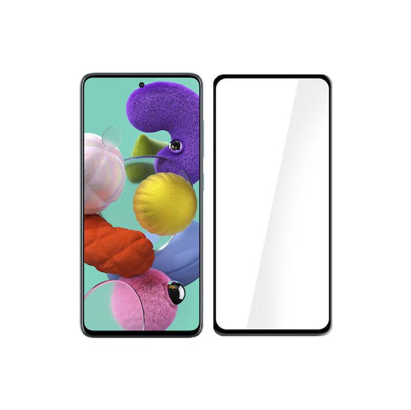 Προστασία οθόνης Full Face Tempered Glass 9H για Samsung Galaxy A51