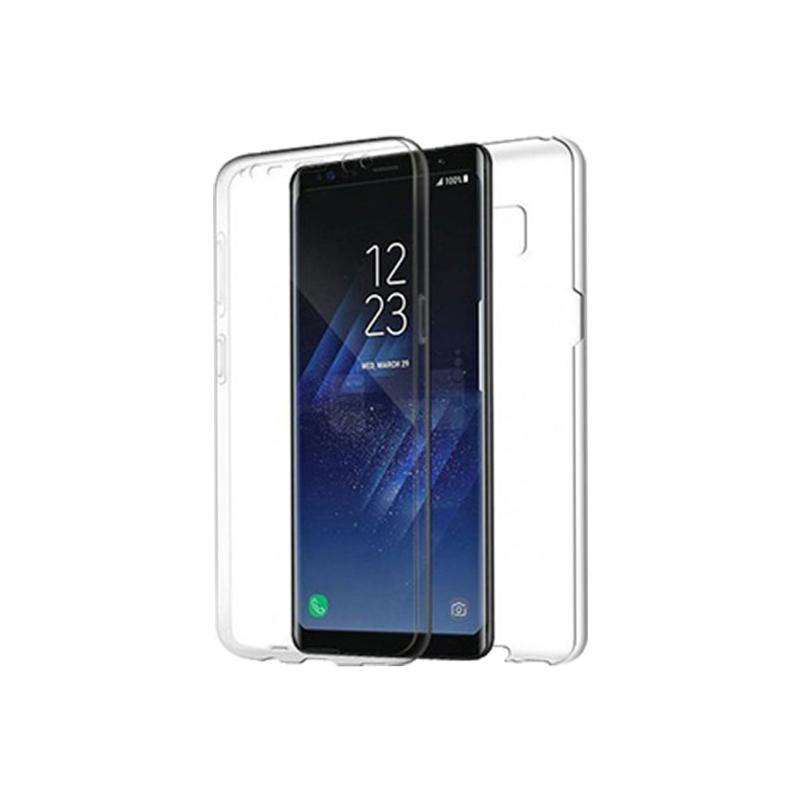 Θήκη 360 Full Cover Σιλικόνης Διάφανο Samsung Galaxy S8 Plus