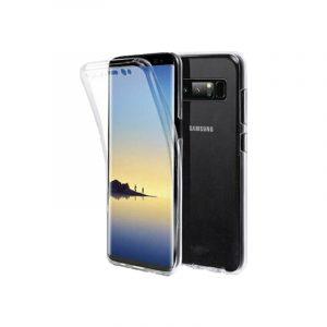 Θήκη 360 Full Cover Σιλικόνης Διάφανο Samsung Galaxy Note 8