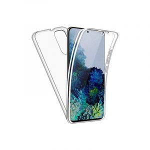 Θήκη 360 Full Cover Σιλικόνης Διάφανο Samsung Galaxy S20 Plus