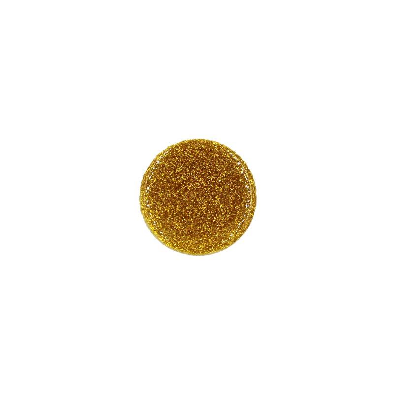 Pop Socket Glitter με Βάση Αυτοκινήτου χρυσό