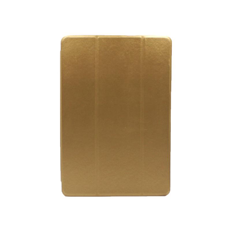 """Θήκη Huawei MediaPad T5 Tablet 10"""" Tri-Fold Flip Cover χρυσό 1"""