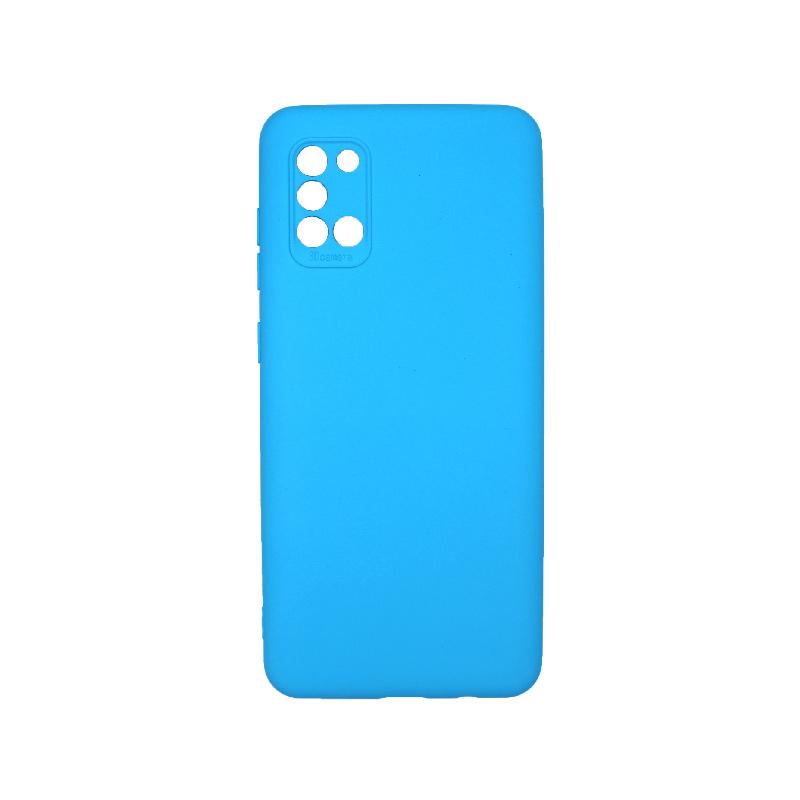 Θήκη Samsung Galaxy A31 Silky and Soft Touch Silicone Γαλάζιο 1