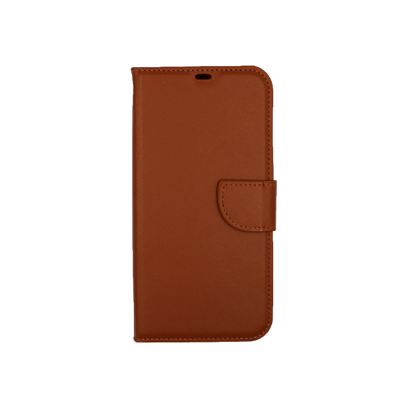 Θήκη iPhone 12 Pro Max Wallet καφέ 1