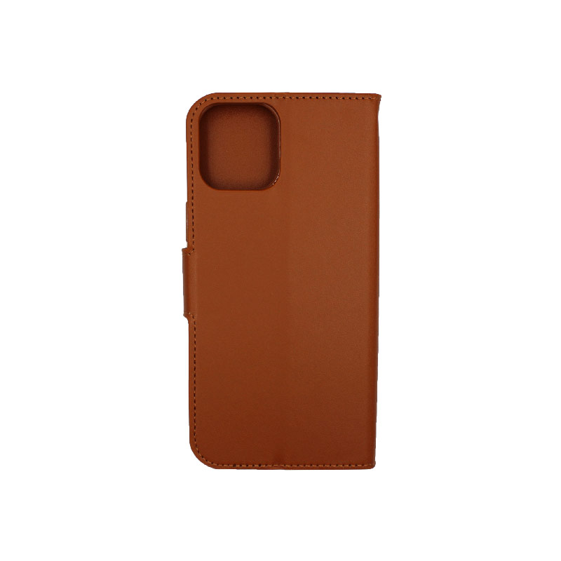 Θήκη iPhone 12 Pro Max Wallet καφέ 2
