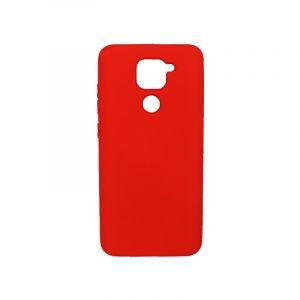 Θήκη Xiaomi Redmi Note 9 Silky and Soft Touch Silicone κόκκινη 1