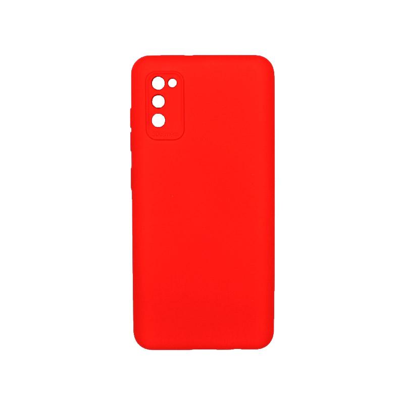 Θήκη Samsung Galaxy A41 Silky and Soft Touch Silicone Κόκκινο 1