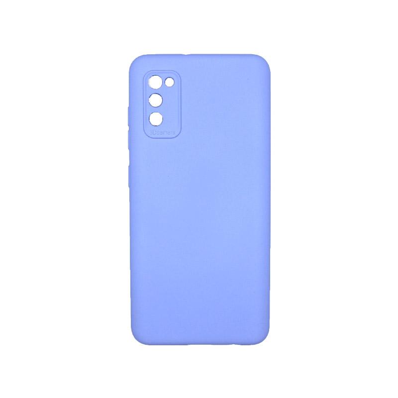 Θήκη Samsung Galaxy A41 Silky and Soft Touch Silicone Λιλά 1
