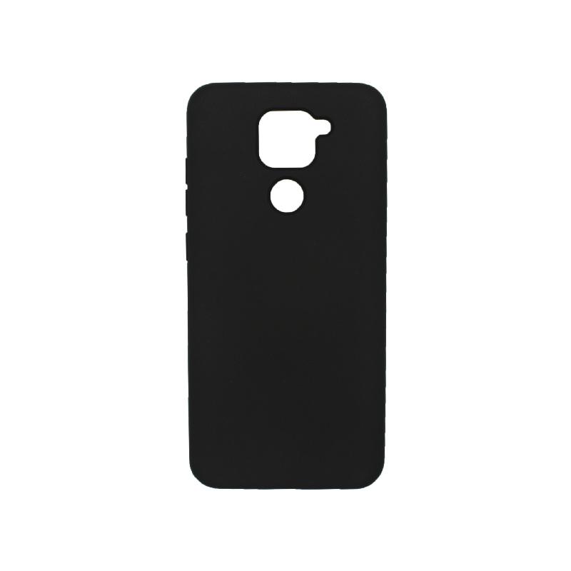 Θήκη Xiaomi Redmi Note 9 Silky and Soft Touch Silicone μαύρο 1