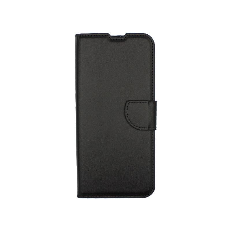 Θήκη Samsung Galaxy A21s Wallet μαύρο 1
