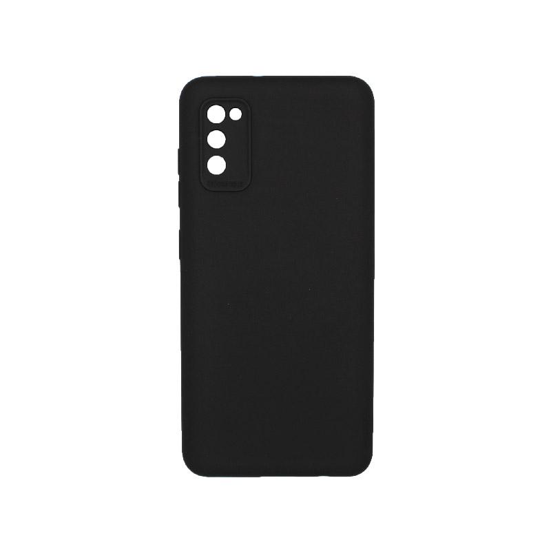 Θήκη Samsung Galaxy A41 Silky and Soft Touch Silicone Μαύρο 1
