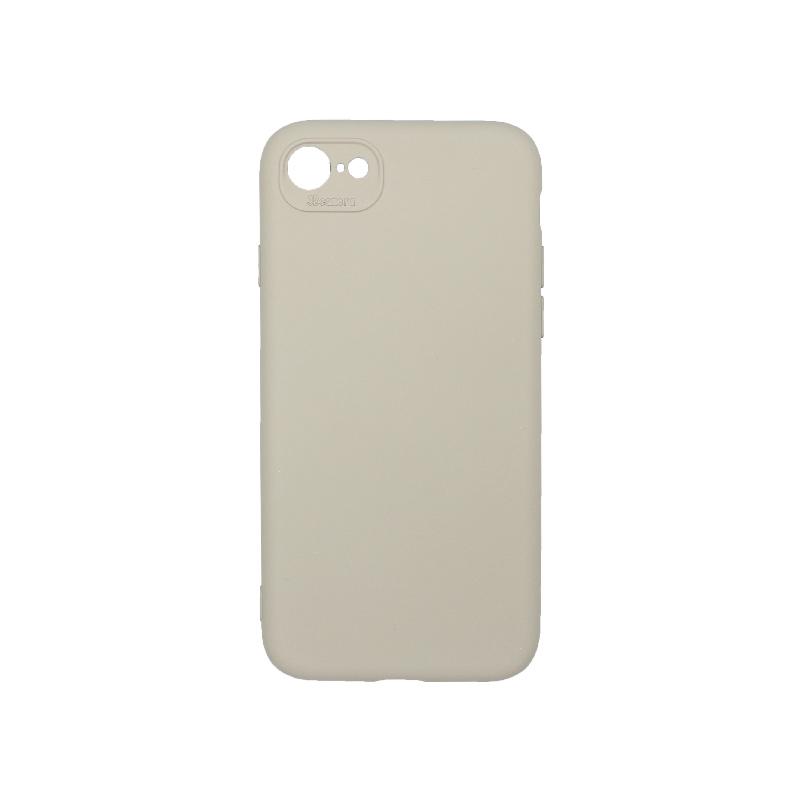 Θήκη iPhone 7 / 8 / SE 2020 Silky and Soft Touch Silicone γκρι 1