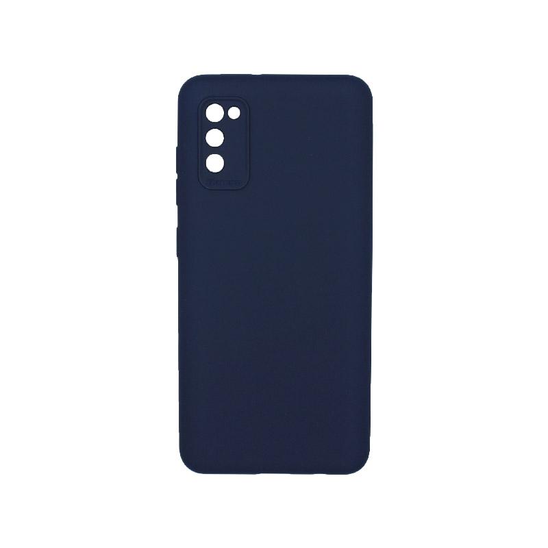 Θήκη Samsung Galaxy A41 Silky and Soft Touch Silicone Μπλε 1