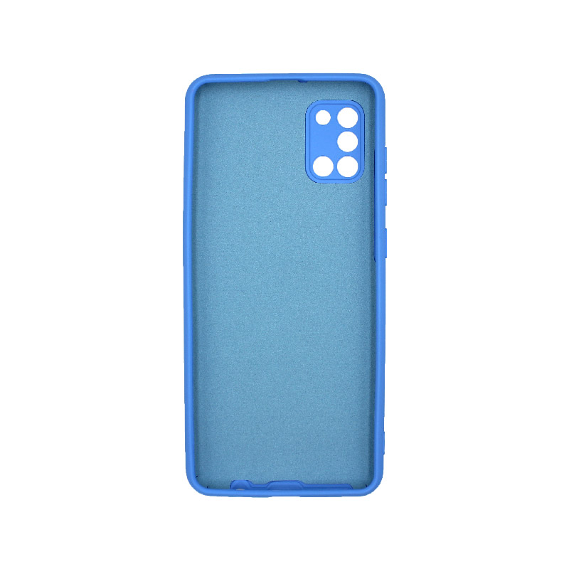 Θήκη Samsung Galaxy A31 Silky and Soft Touch Silicone Μπλε 2