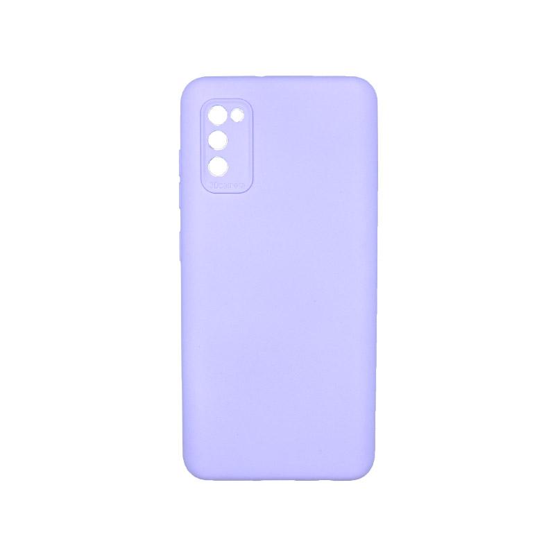Θήκη Samsung Galaxy A41 Silky and Soft Touch Silicone Μωβ 1