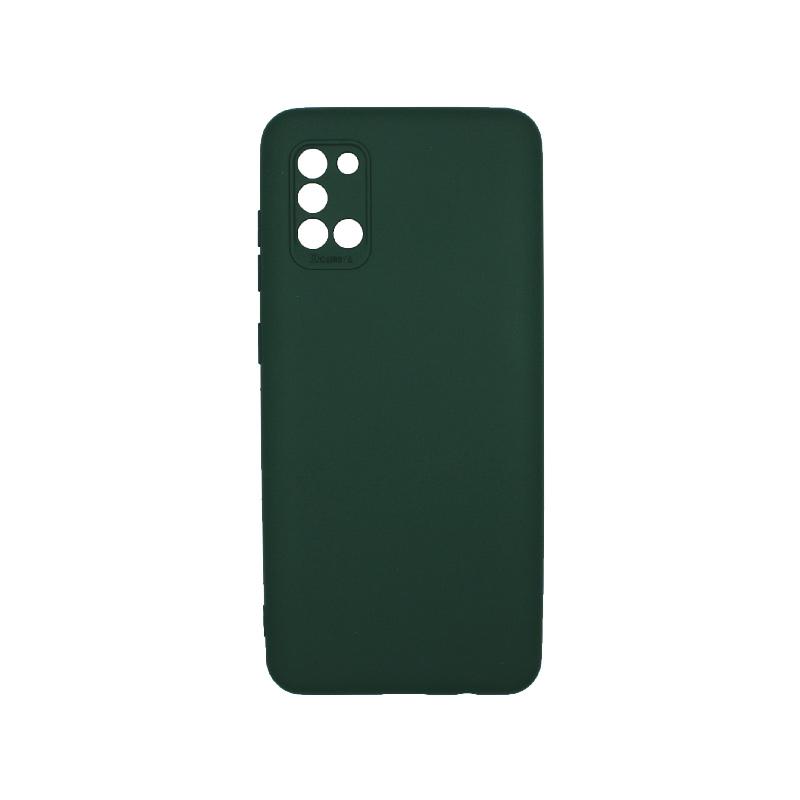 Θήκη Samsung Galaxy A31 Silky and Soft Touch Silicone Πράσινο 1