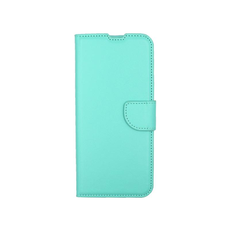 Θήκη Samsung Galaxy A21s Wallet τιρκουαζ 1