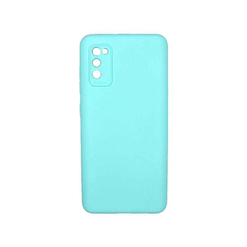 Θήκη Samsung Galaxy A41 Silky and Soft Touch Silicone Τιρκουάζ 1
