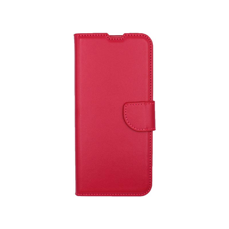 Θήκη Samsung Galaxy A21s Wallet φούξια 1