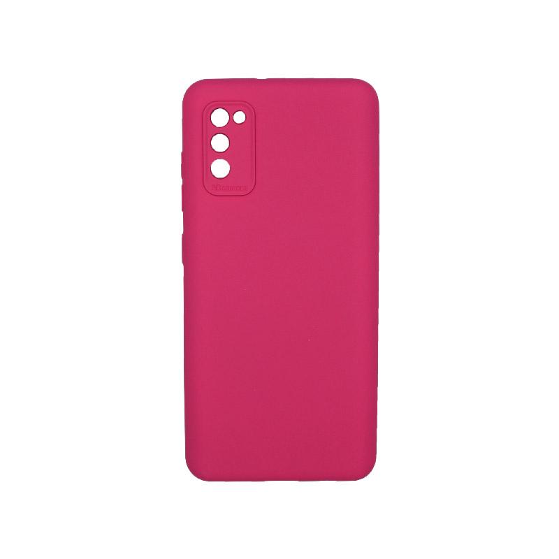 Θήκη Samsung Galaxy A41 Silky and Soft Touch Silicone Φούξια 1