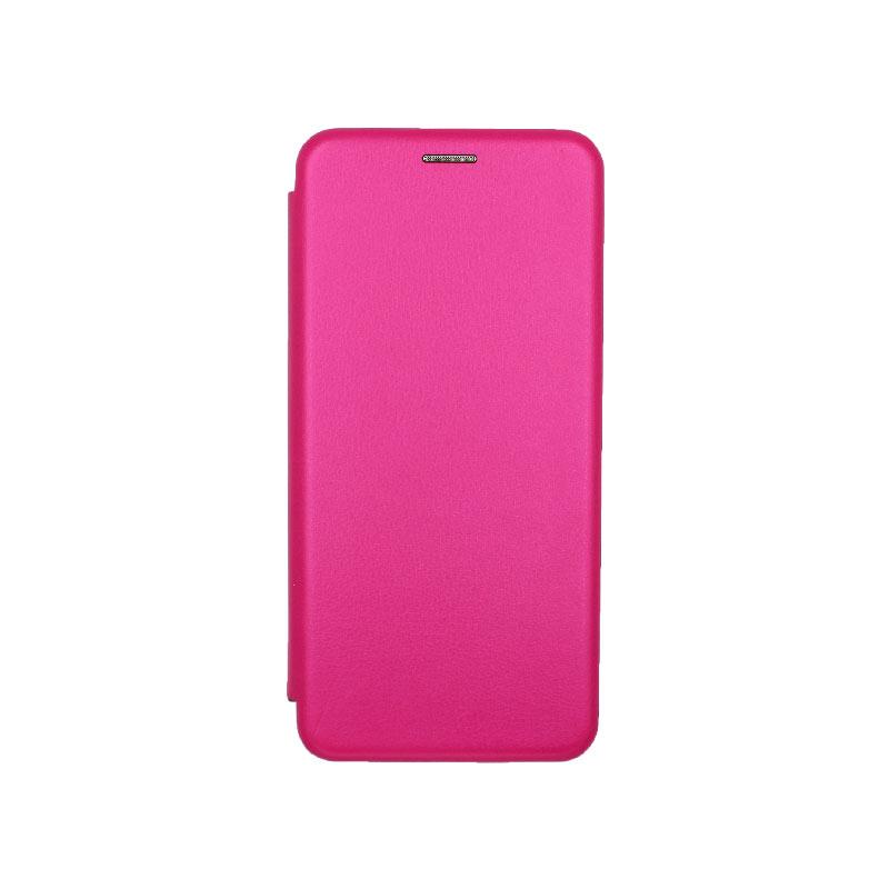 Θήκη Samsung Galaxy A21s Book φούξια 1