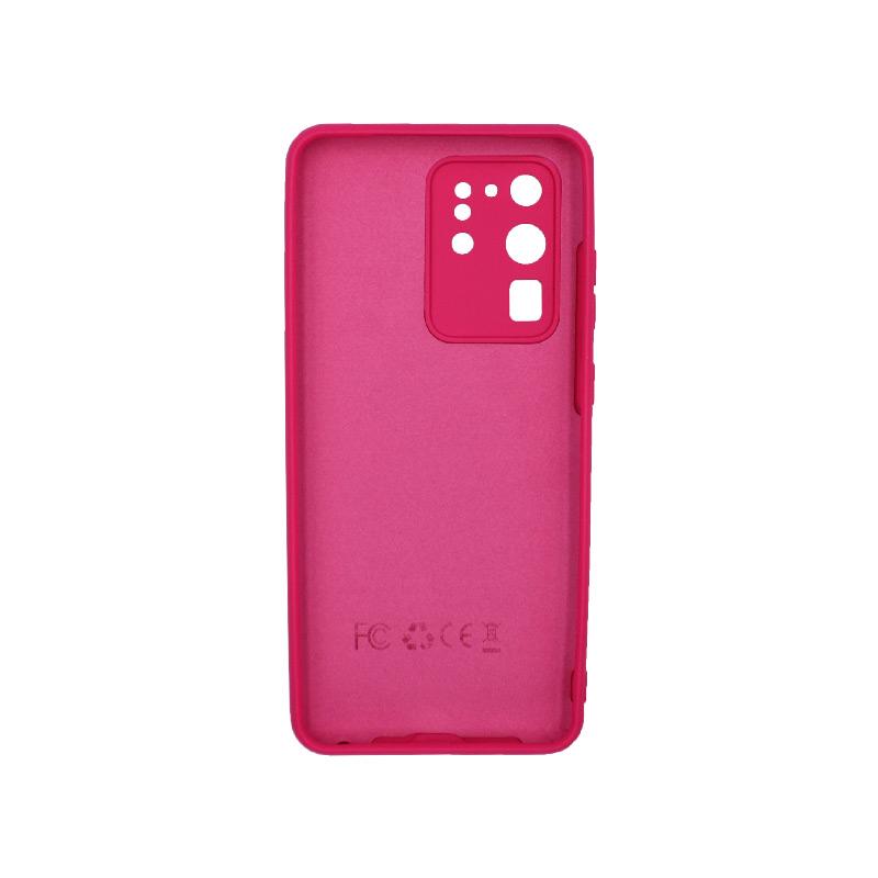 Θήκη Samsung Galaxy S20 Ultra Silky and Soft Touch Silicone Φούξια 2