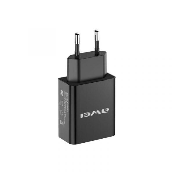 Φορτιστής Universal Awei C-824 Fast Charging Adapter μαύρο 2