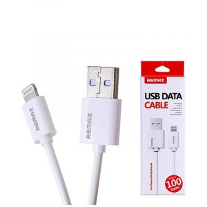 Remax Regular USB 2.0 to Lightning Cable Λευκό 1m (Data Cable)