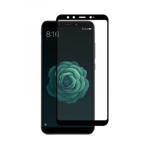 Προστασία οθόνης Full Face Tempered Glass 9H για Xiaomi Mi 6X / Mi A2 Μαύρο