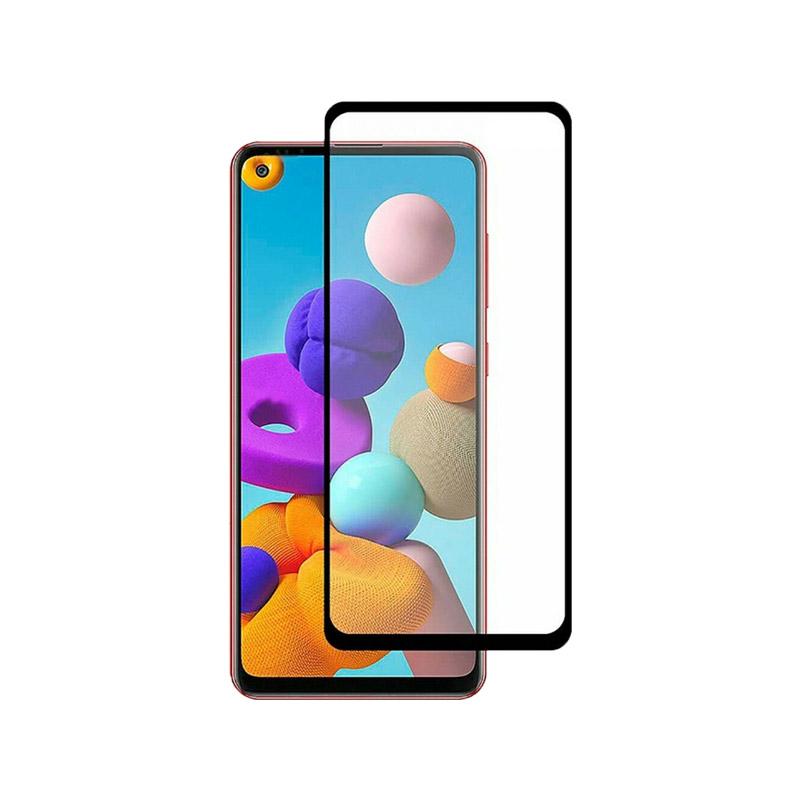 Προστασία οθόνης Full Face Tempered Glass 9H για Samsung Galaxy A21s
