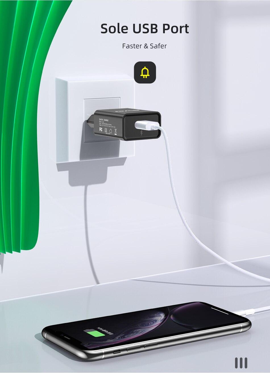 Φορτιστής Universal Awei C-824 Fast Charging Adapter διαφημιστικά 3