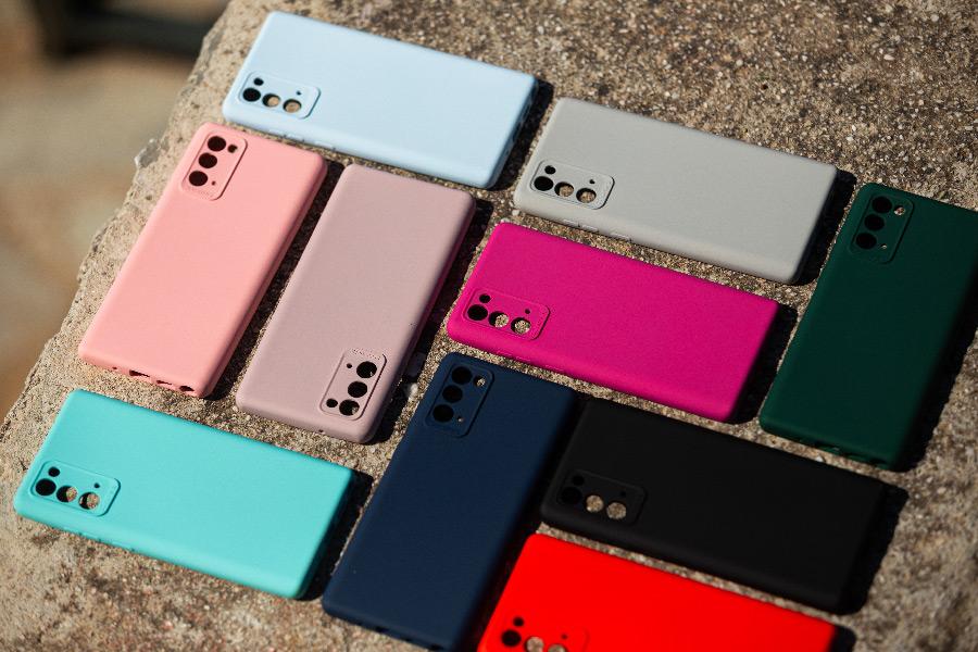 Θήκη Samsung Galaxy Note 20 Silky and Soft Touch Silicone διαφημιστικό