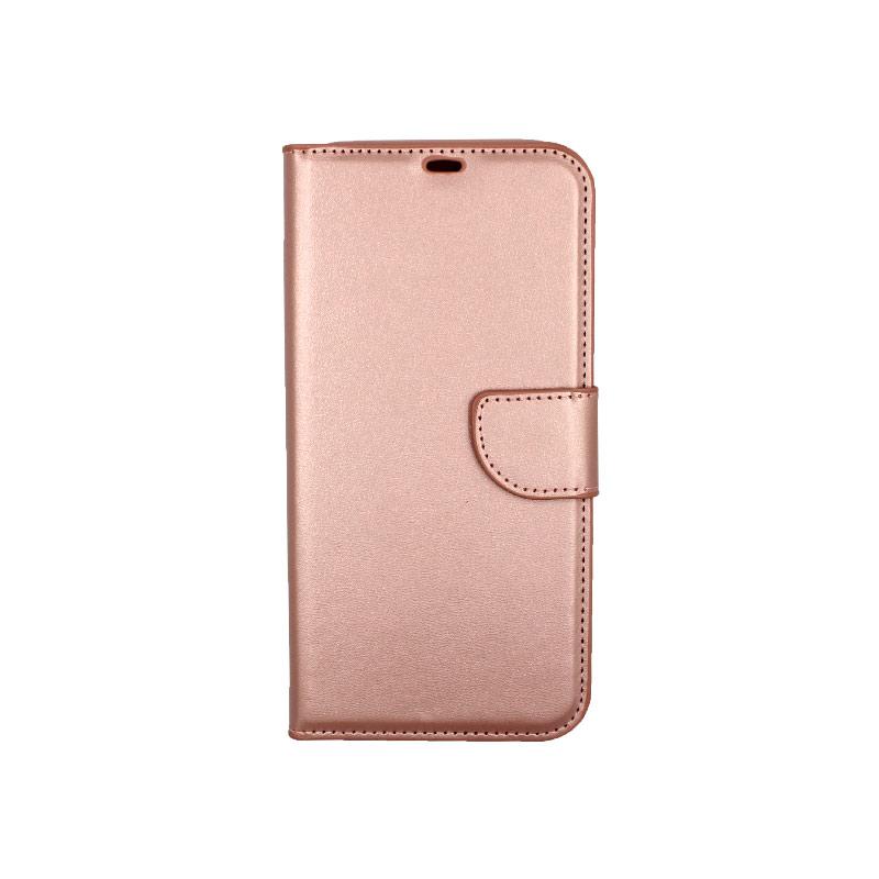Θήκη iPhone 12 Mini Wallet απαλό ροζ 1