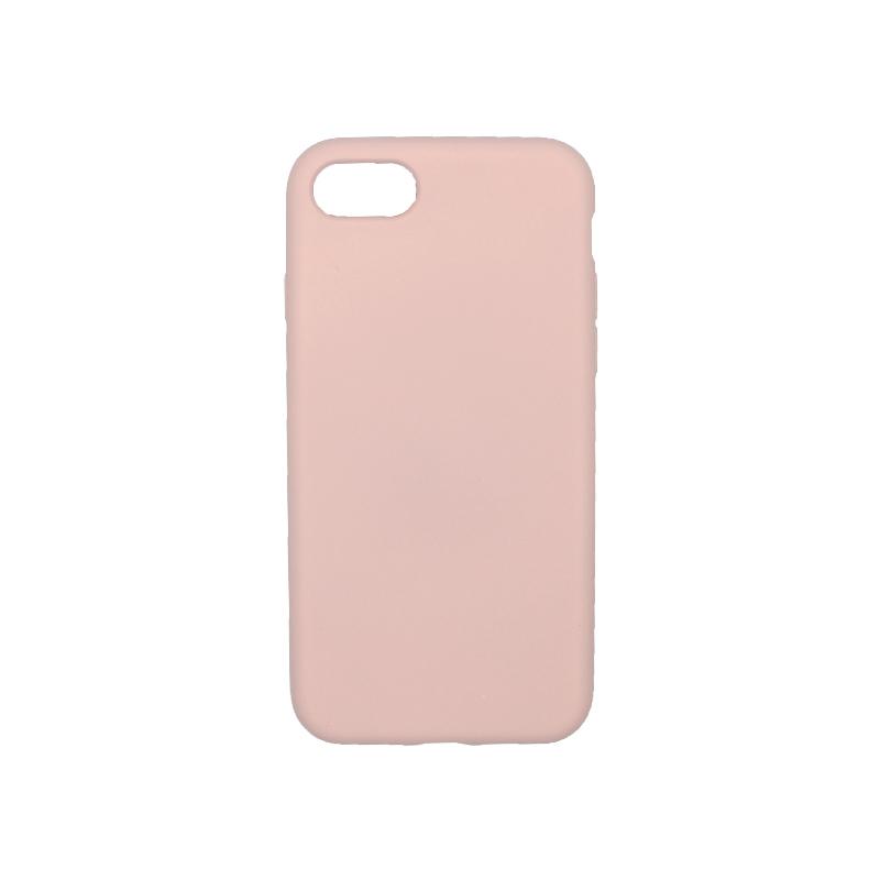 Θήκη iPhone 7 / 8 Silky and Soft Touch Silicone ανοιχτό ροζ 1