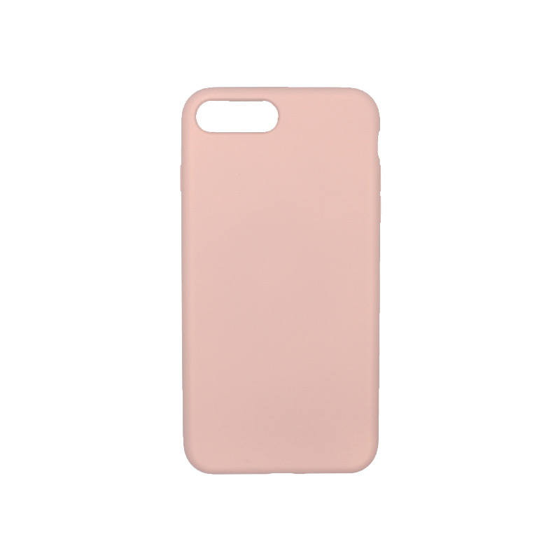 Θήκη iPhone 7 Plus / 8 Plus Silky and Soft Touch Silicone ανοιχτό ροζ 1