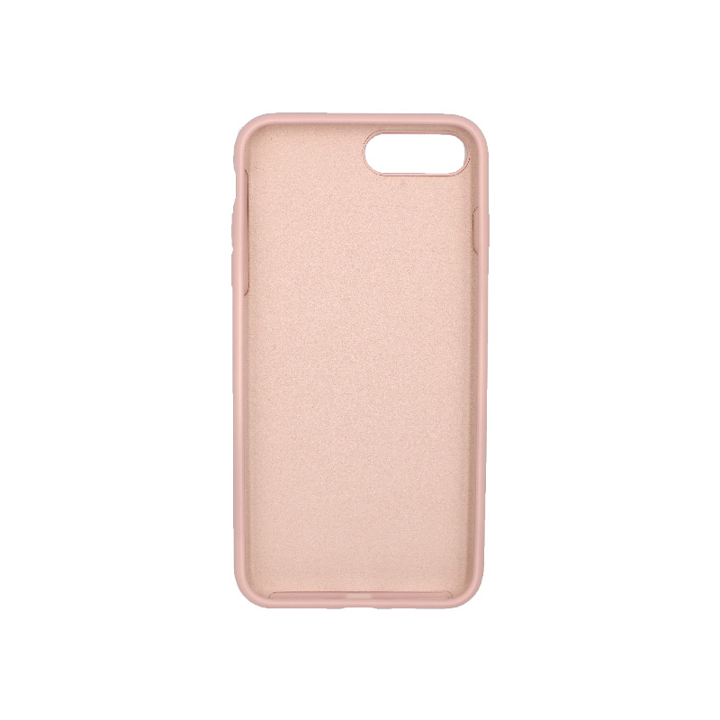 Θήκη iPhone 7 Plus / 8 Plus Silky and Soft Touch Silicone ανοιχτό ροζ 2