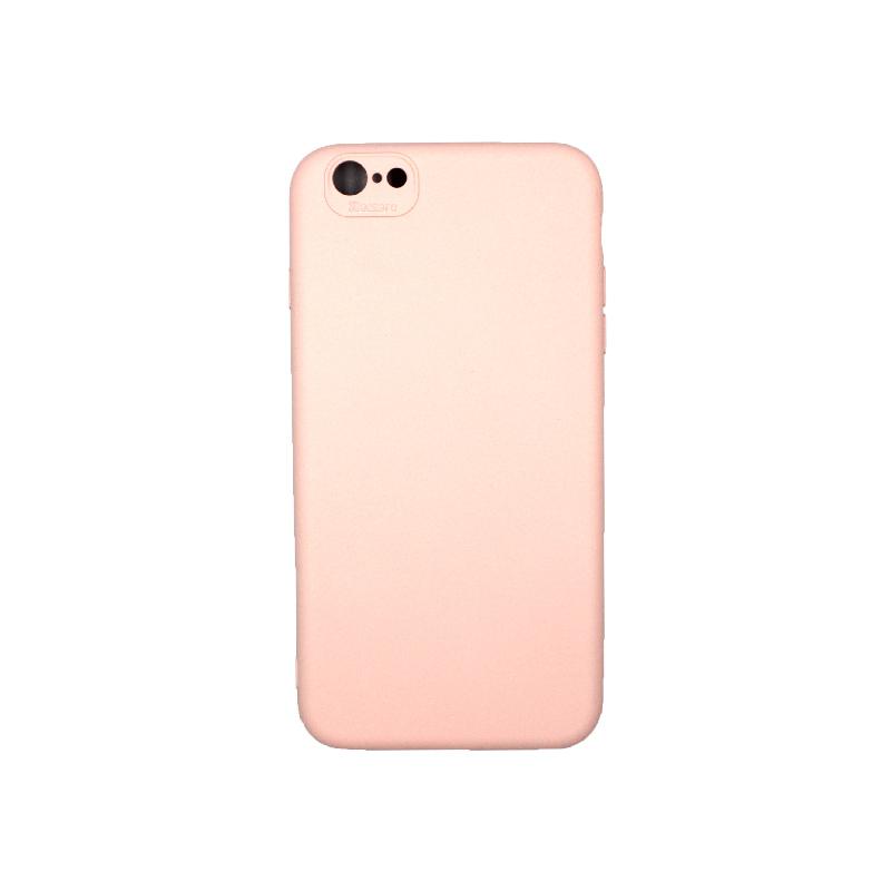 Θήκη iPhone 6 Plus / 6s Plus Silky and Soft Touch Silicone απαλό ροζ 1