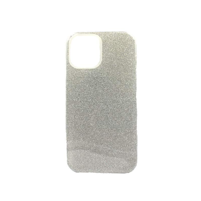 Θήκη iPhone 12 Pro Max Glitter ασημί