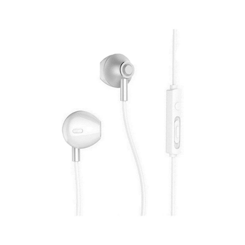 Handsfree Ακουστικά Remax RM 711 Ασημί