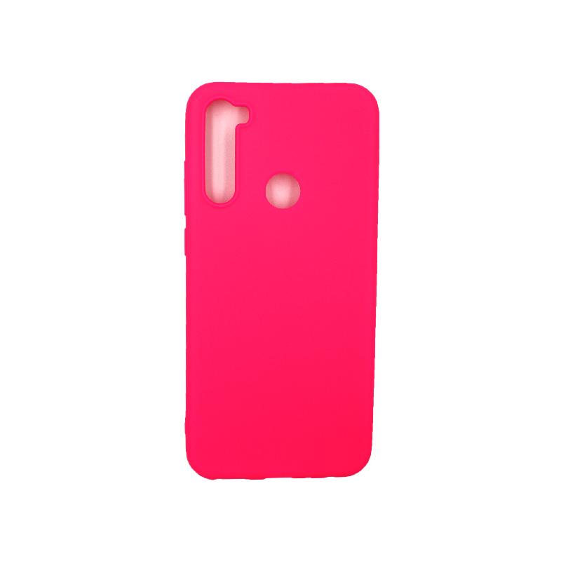 Θήκη Xiaomi Redmi Note 8T Σιλικόνη φούξια