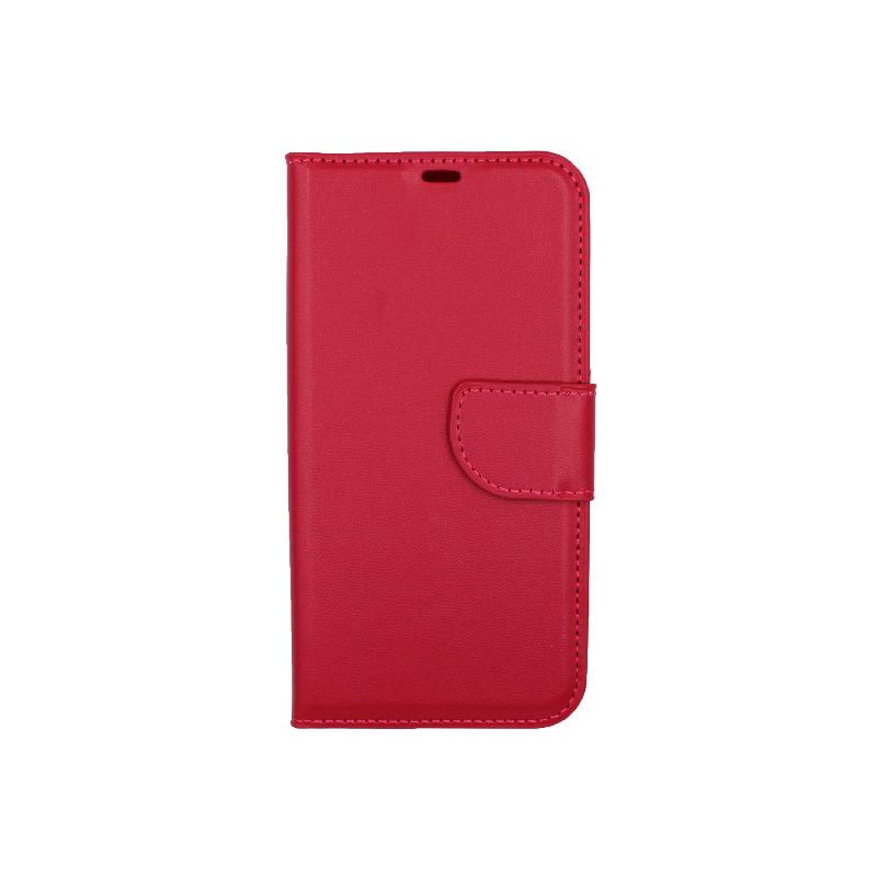 Θήκη iPhone 12 Mini Wallet φούξια 1